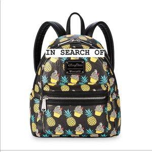 Loungefly Pineapple Swirl/Dole Whip Mini Backpack